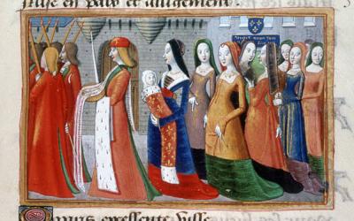 Modest Dresses in Fine Art